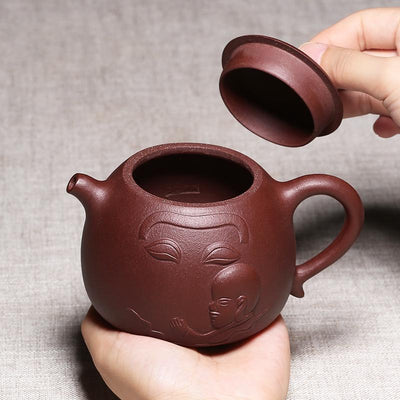 Buddhist Yixing Teapot-TopicTea