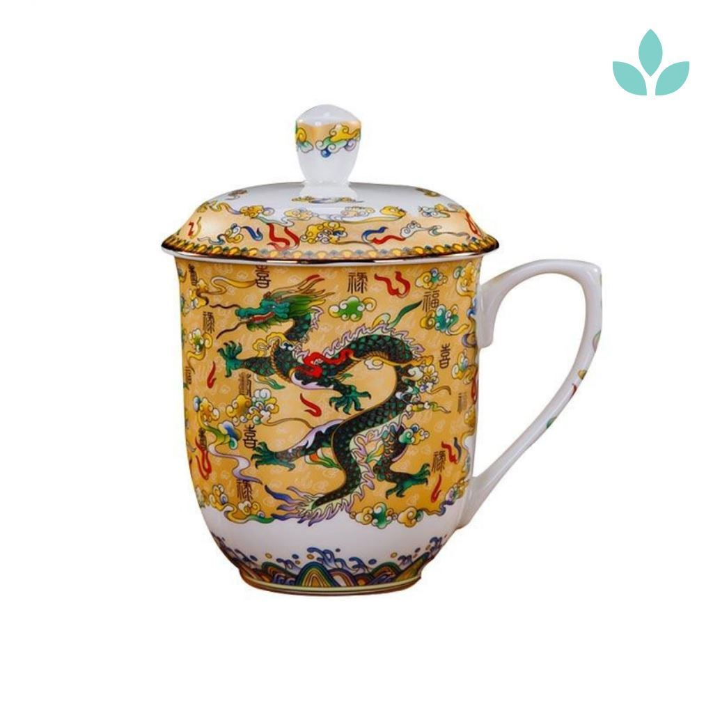 Chinese Dragon Tea Cup
