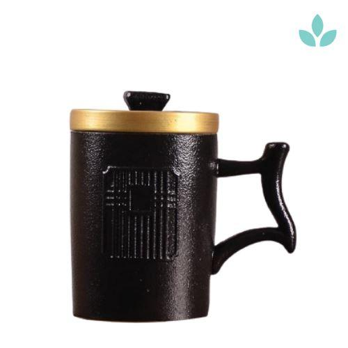 Chinese-Inspired Tea Mug with Infuser-TopicTea