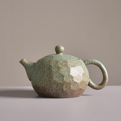 Chinese Style Ceramic Teapot-Green-TopicTea