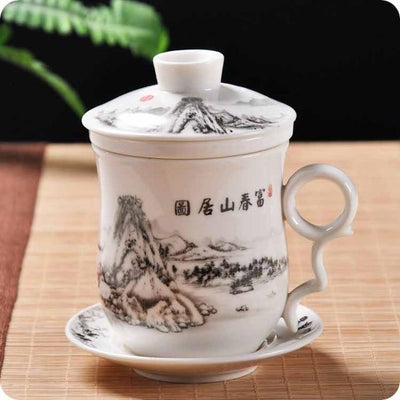 Tea Cup With Chinese Characters