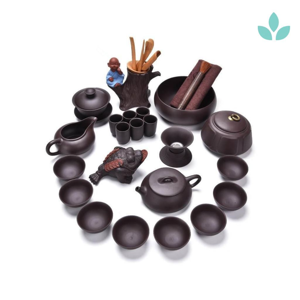 Complete Set of Yixing Zisha Tea Ceremony Accessories