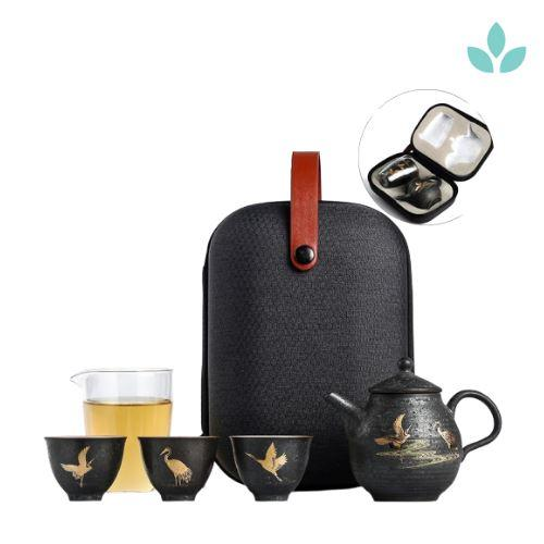Complete Teaware Set for Travel