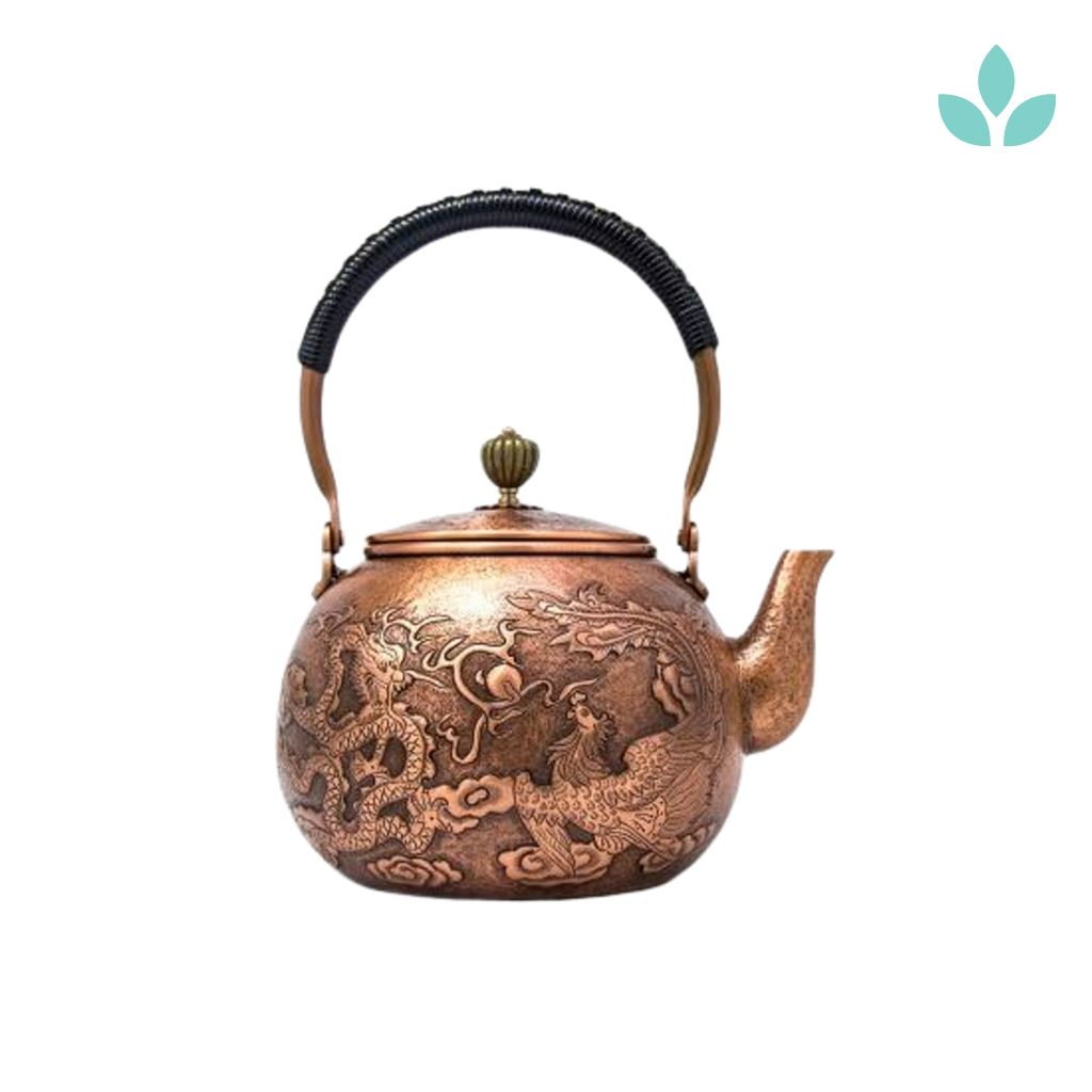 Dragon Copper Teapot