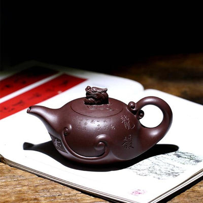 Dragon Yixing Teapot-TopicTea