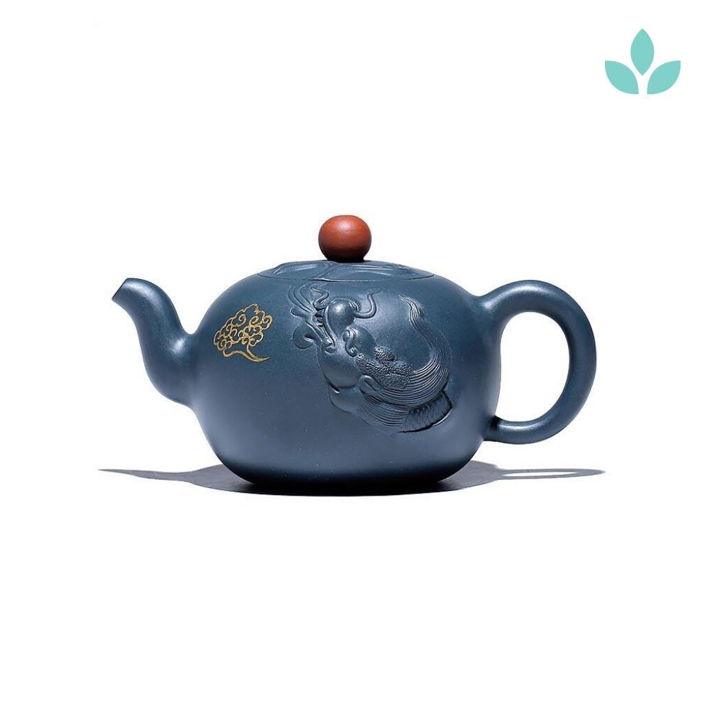 Eco-Friendly Purple Clay Teapot