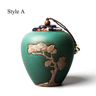 Embossed Tea Canister-Style A-TopicTea