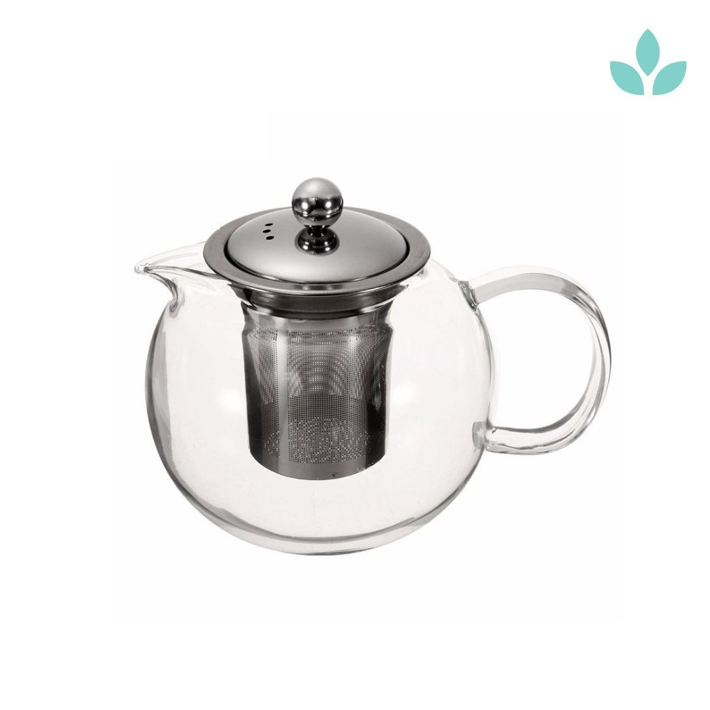 Glass Infuser Teapot for Loose Tea