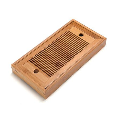 Gongfu Bamboo Tea Ceremony Tray-28x15.5x3cm-TopicTea