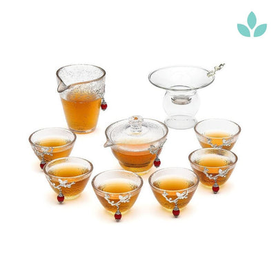 Heat Resistant Easy Gaiwan Tea Set