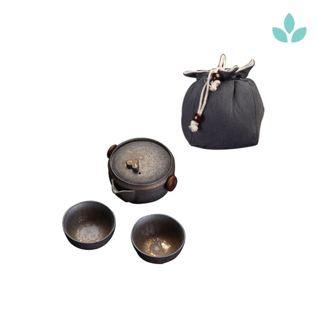 Houhin Travel Tea Set With Bag