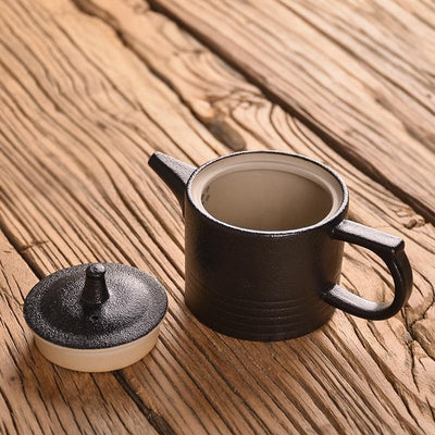Japanese Style Coarse Ceramic Teapot-TopicTea