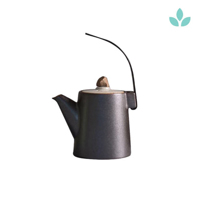 Japanese Teapot with Creative Handle
