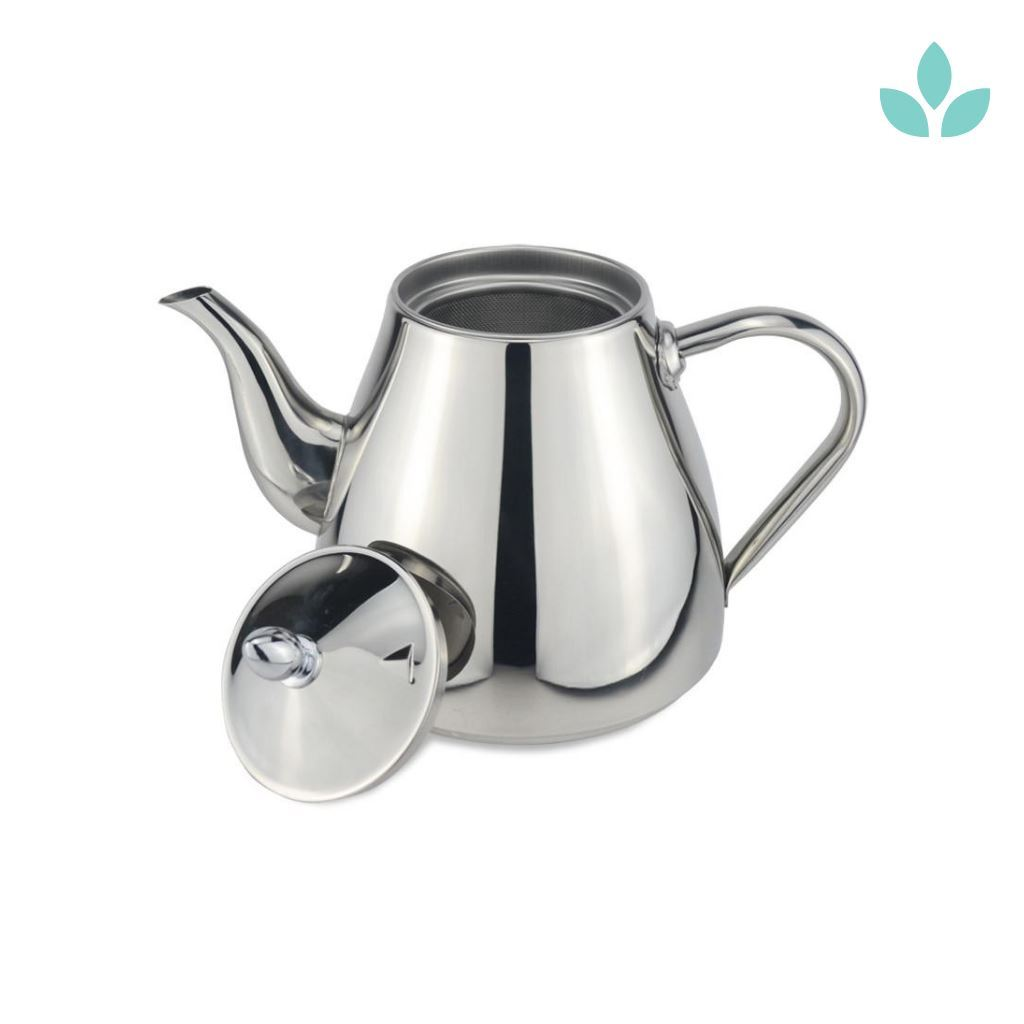 Large loose leaf tea strainer teapot
