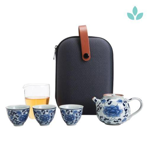 Oriental Chinese-Inspired Travel Tea Set-TopicTea