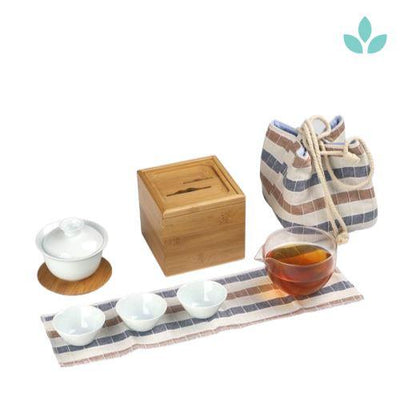 Outdoor Picnic Gaiwan Tea Set-TopicTea