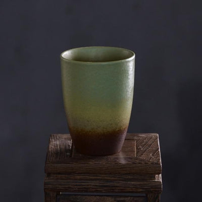 Pigmented Pottery Tea Cup-Style C-TopicTea