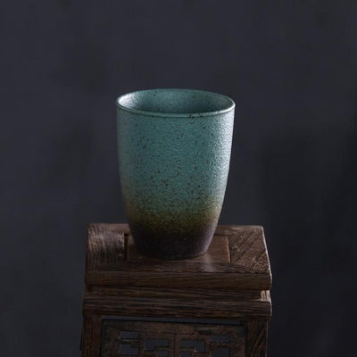 Pigmented Pottery Tea Cup-Style A-TopicTea