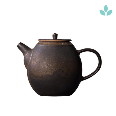 Round Shape Japanese Ceramic Teapot