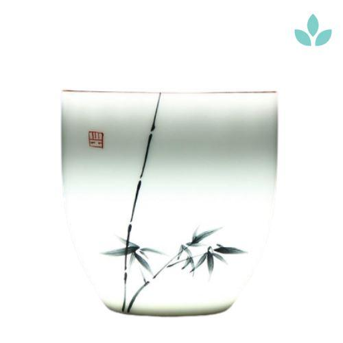 Set of 6 Translucent Chinese Tea Cups