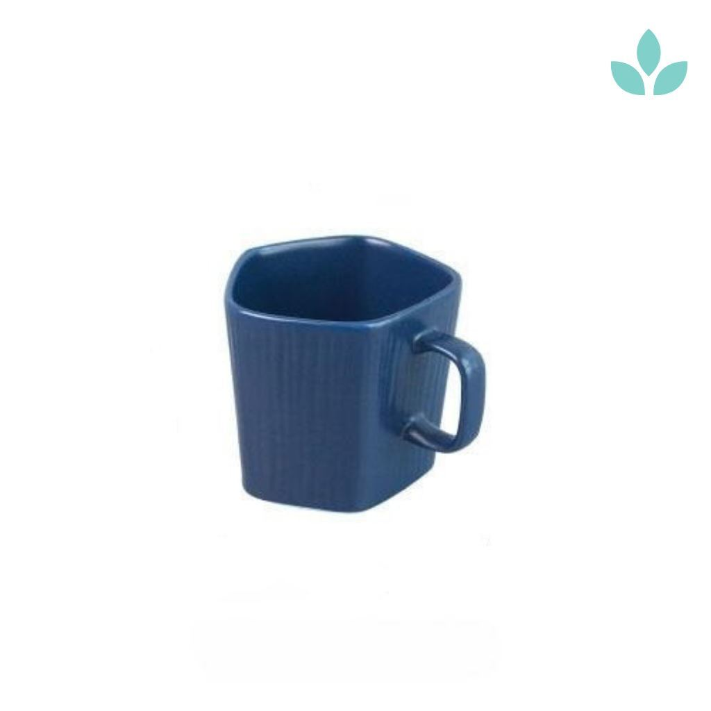 Simple Nordic Elegant Blue Ceramic Cup