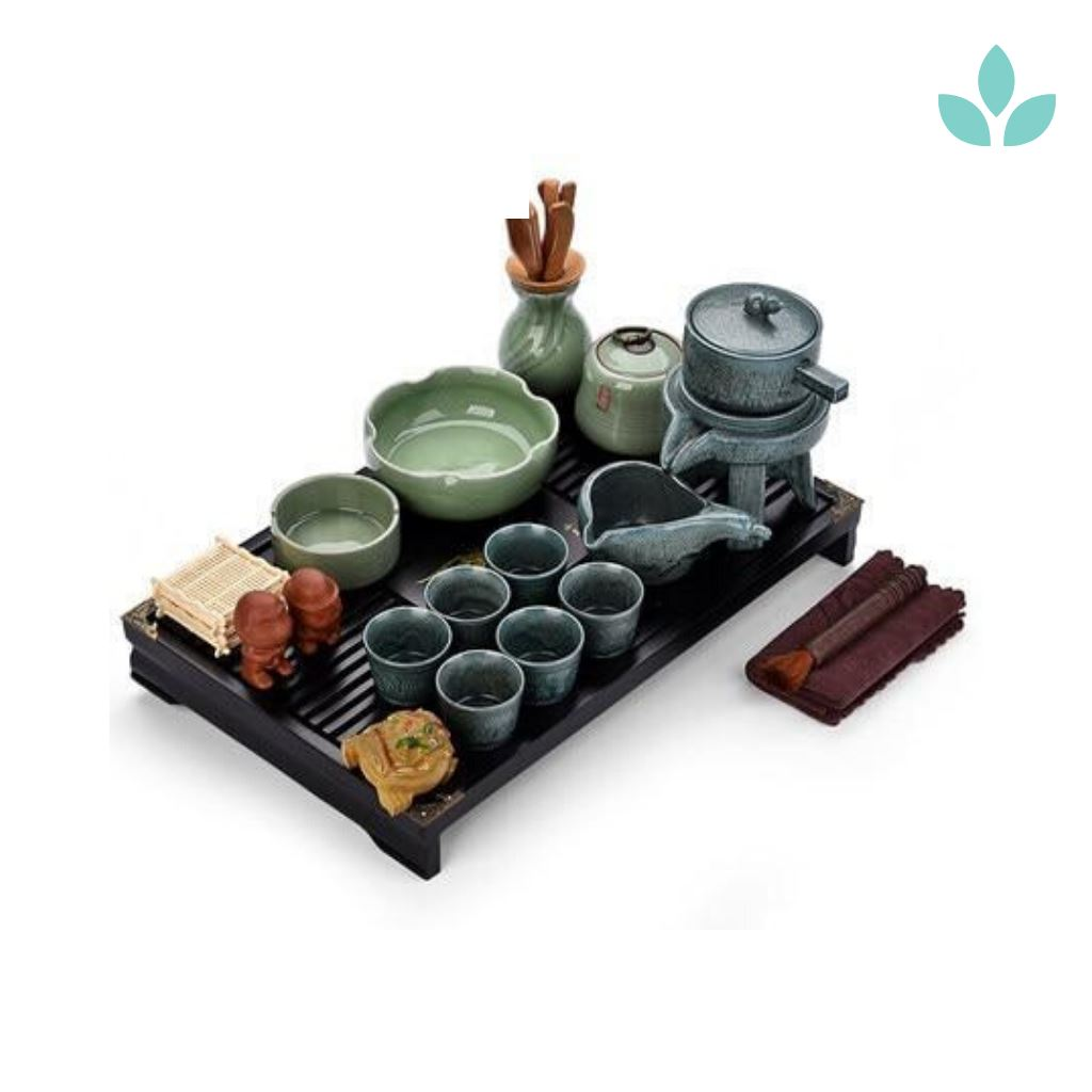 Stone Mill Automatic Gongfu Tea Set