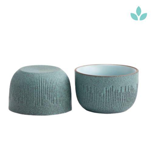Textured Chinese Tea Ceremony Cup