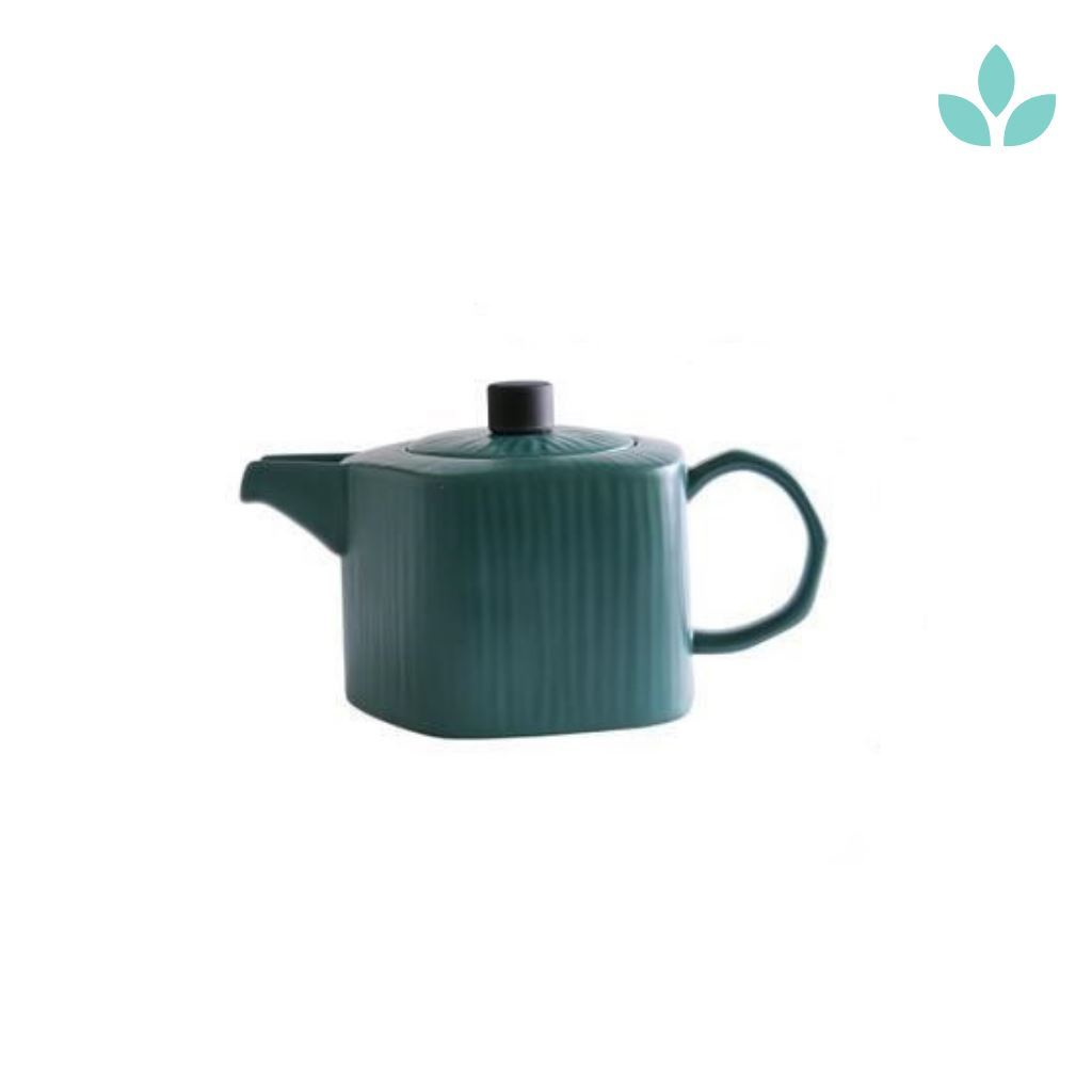 750ml elegant ceramic teapot