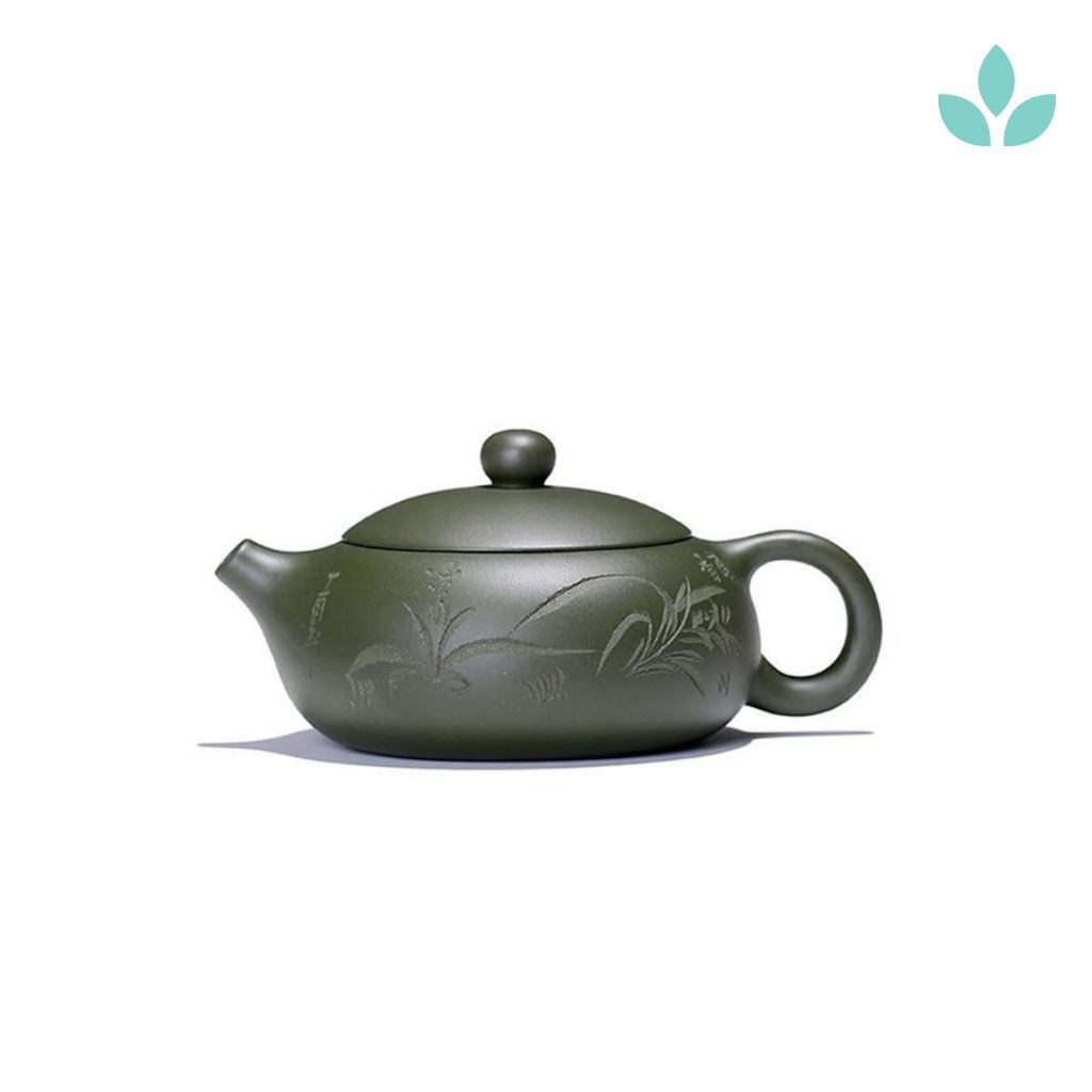 180ml purple sand teapot