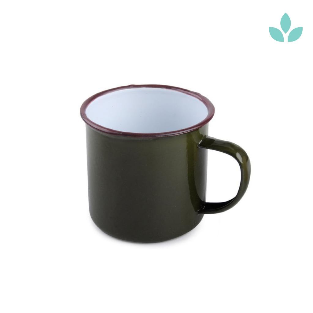 Vintage Era Dark Green Classic Tea Mug