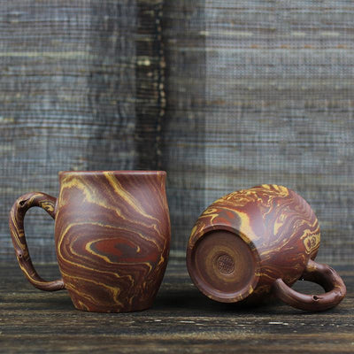 Purple Clay Brown Tea cup