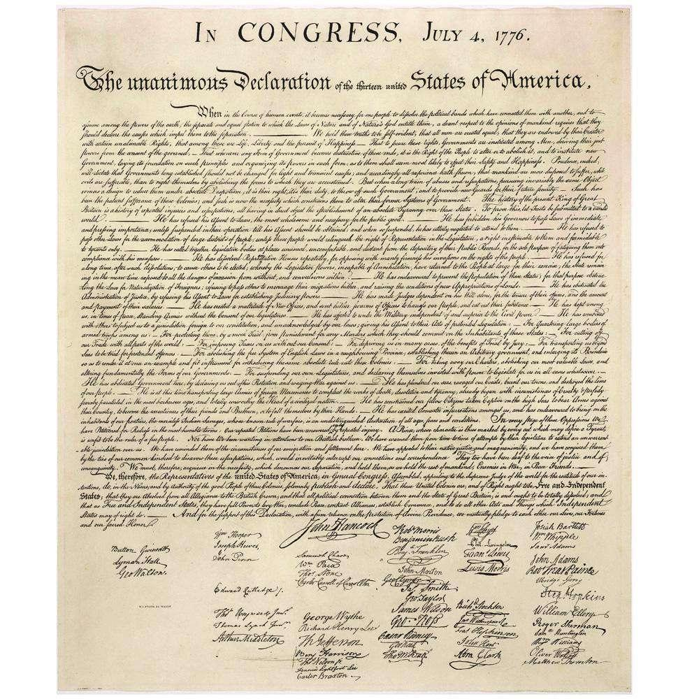 The Declaration of Independence and America's Moral Soul - Culture Kraze Marketplace.com