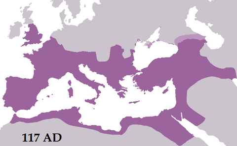 Roman Empire Largest Extent