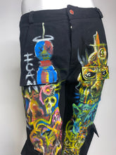 Load image into Gallery viewer, Hand Painted X Pants