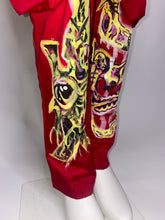 Load image into Gallery viewer, Red Hand Painted X Pants