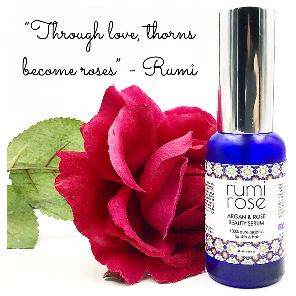 RUMI ROSE Argan + Rose Oil Beauty Serum