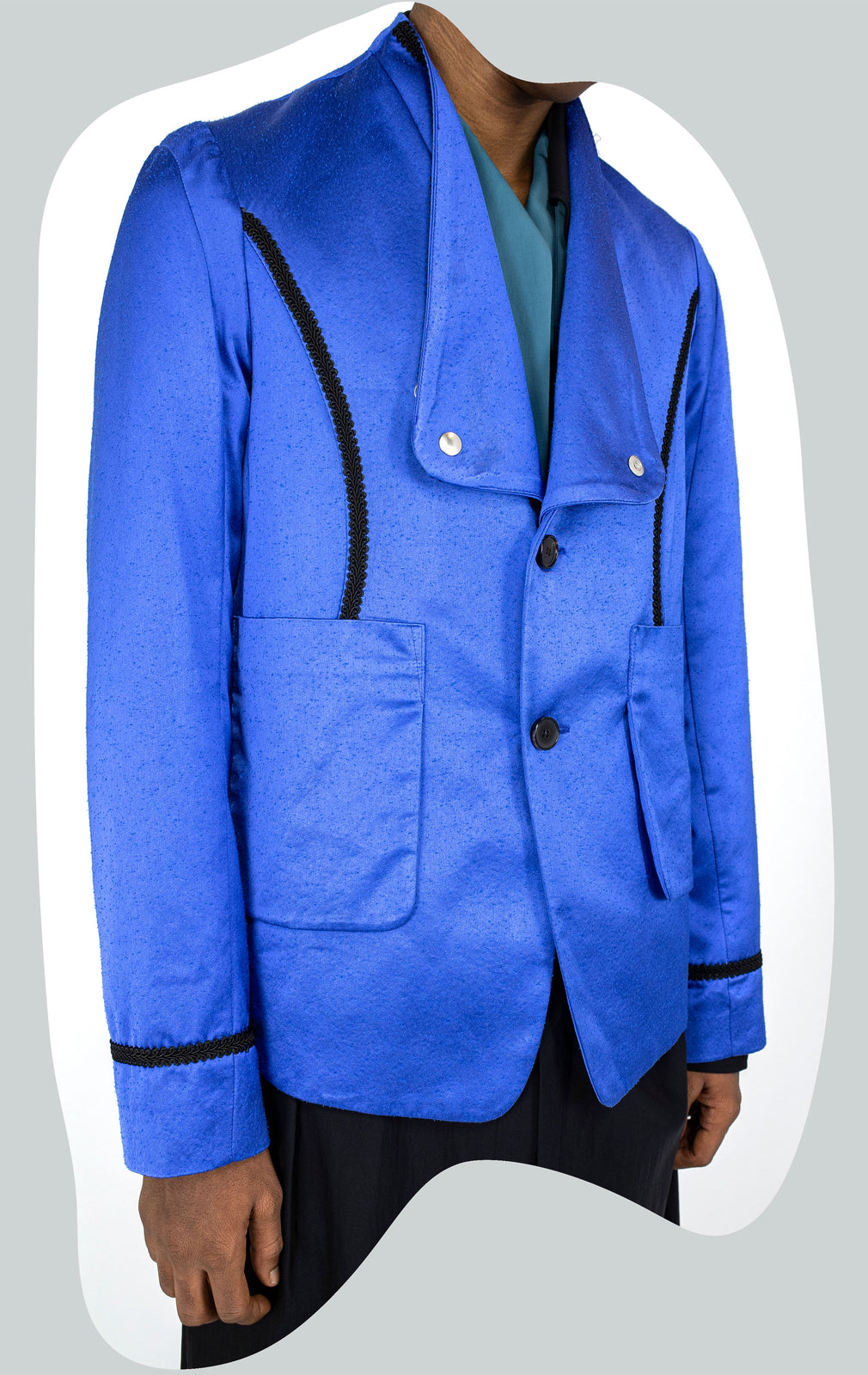 KIKO KOSTADINOV 00102021 ARCADIA TAILORED BLAZER BLUE