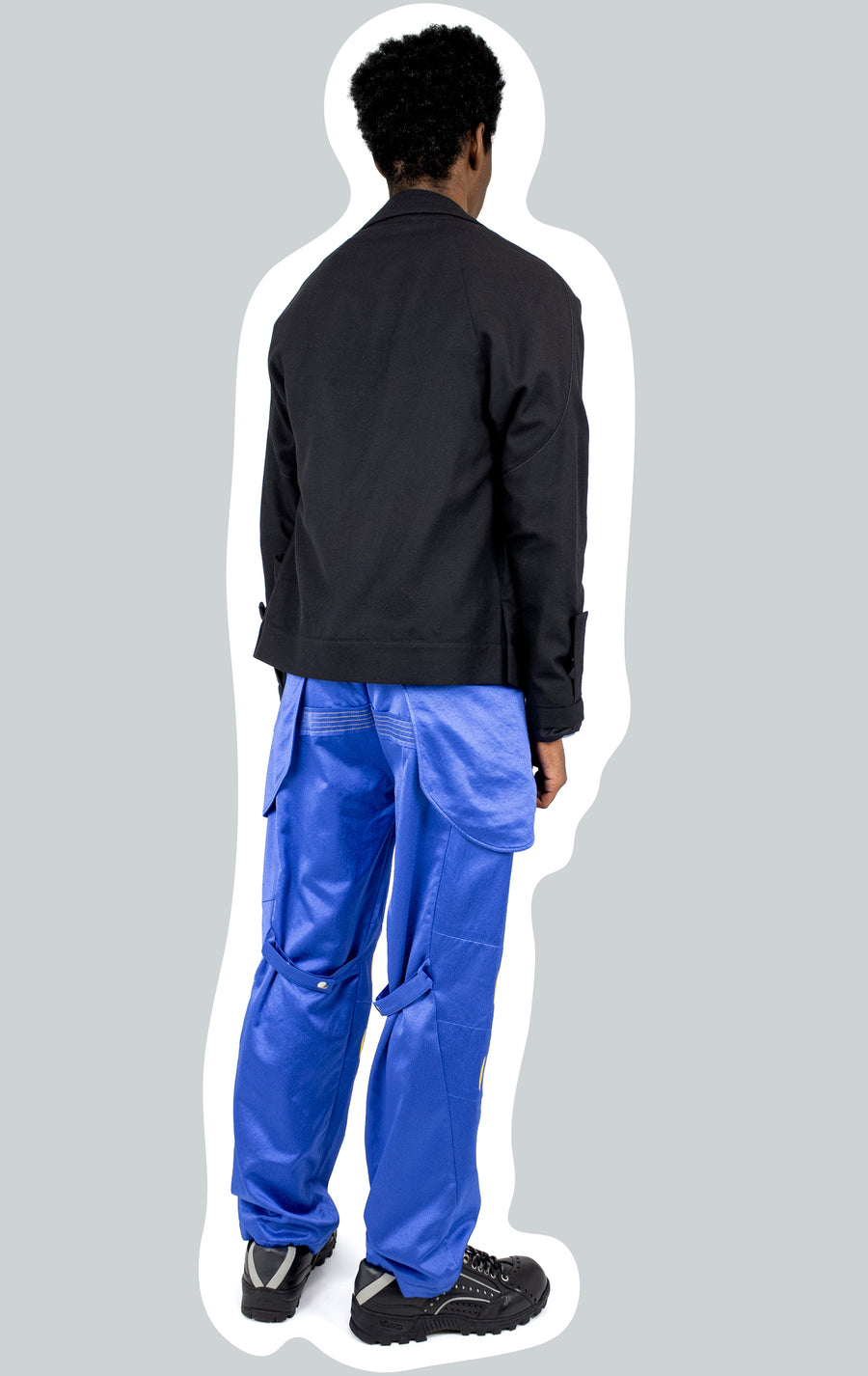 00102021 ARCADIA EMBROIDERED TROUSER BLUE