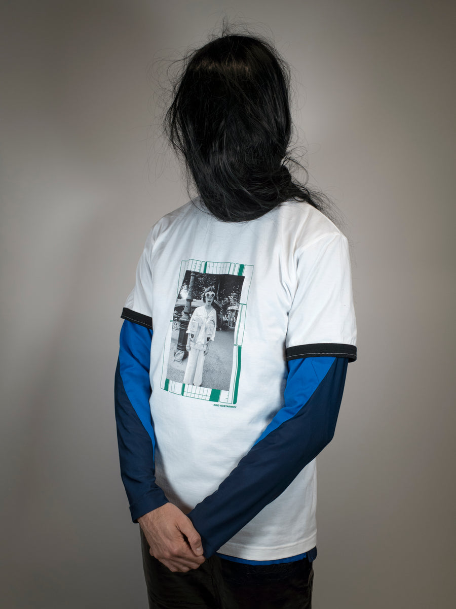 CLAUDE NORI FRIEZE REWORKED TEE