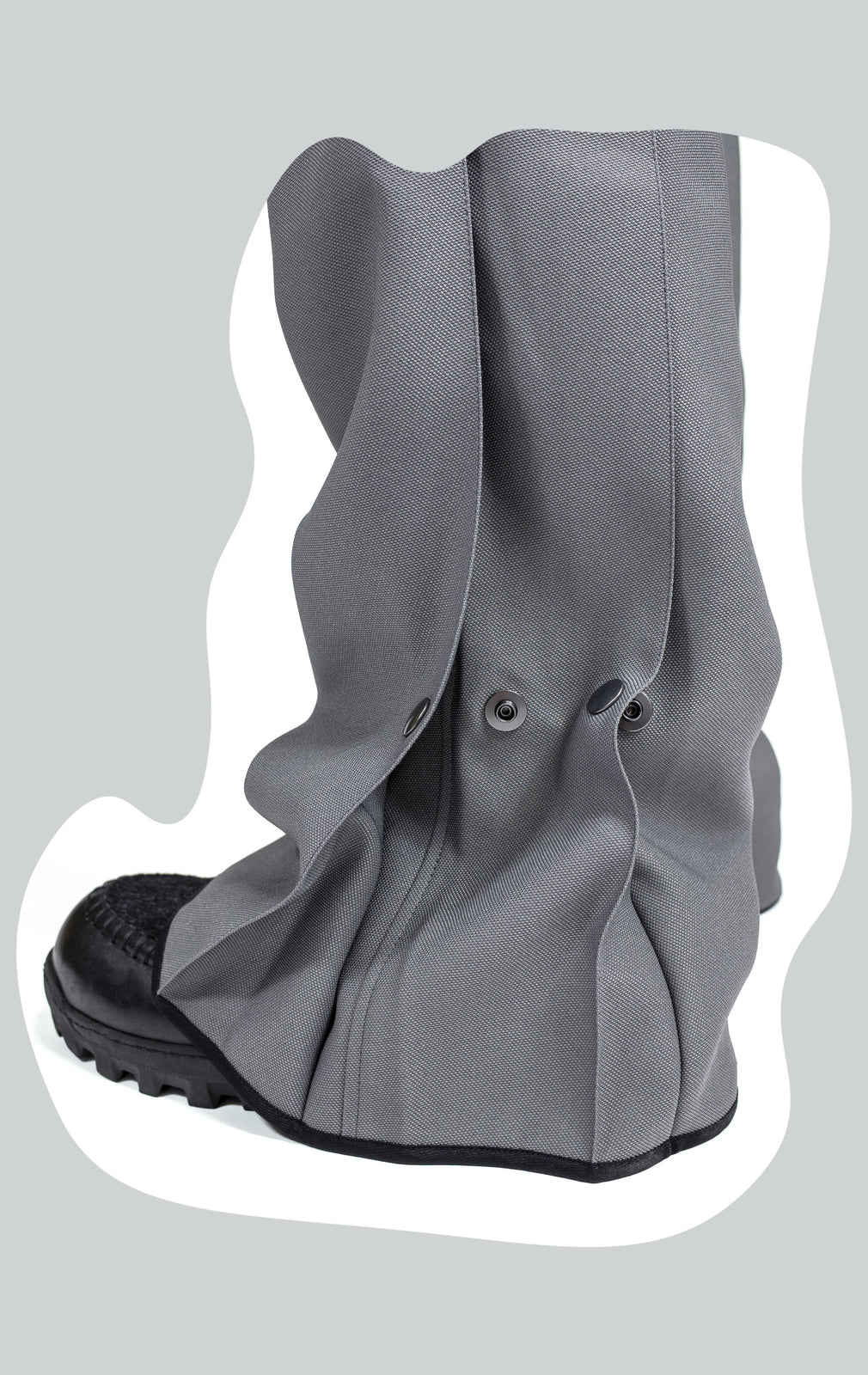 KIKO KOSTADINOV 00092020 REVERSIBLE PLEAT OVERALLS GREY
