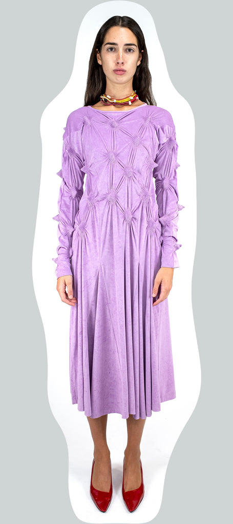 APEX MOTIF DRESS LAVENDER AW20