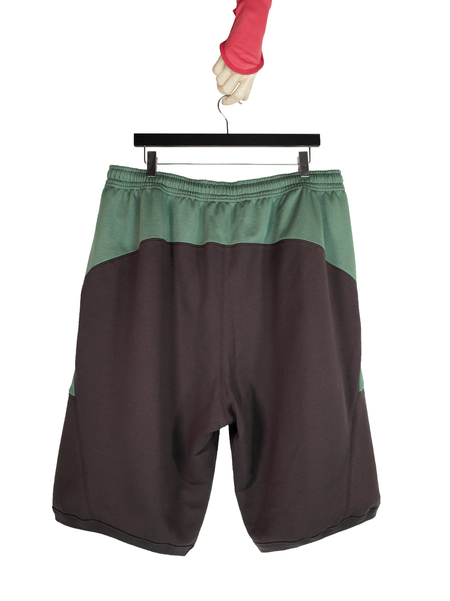 00082020 LOUISVILLE WIDE SHORTS BROWN/GREEN