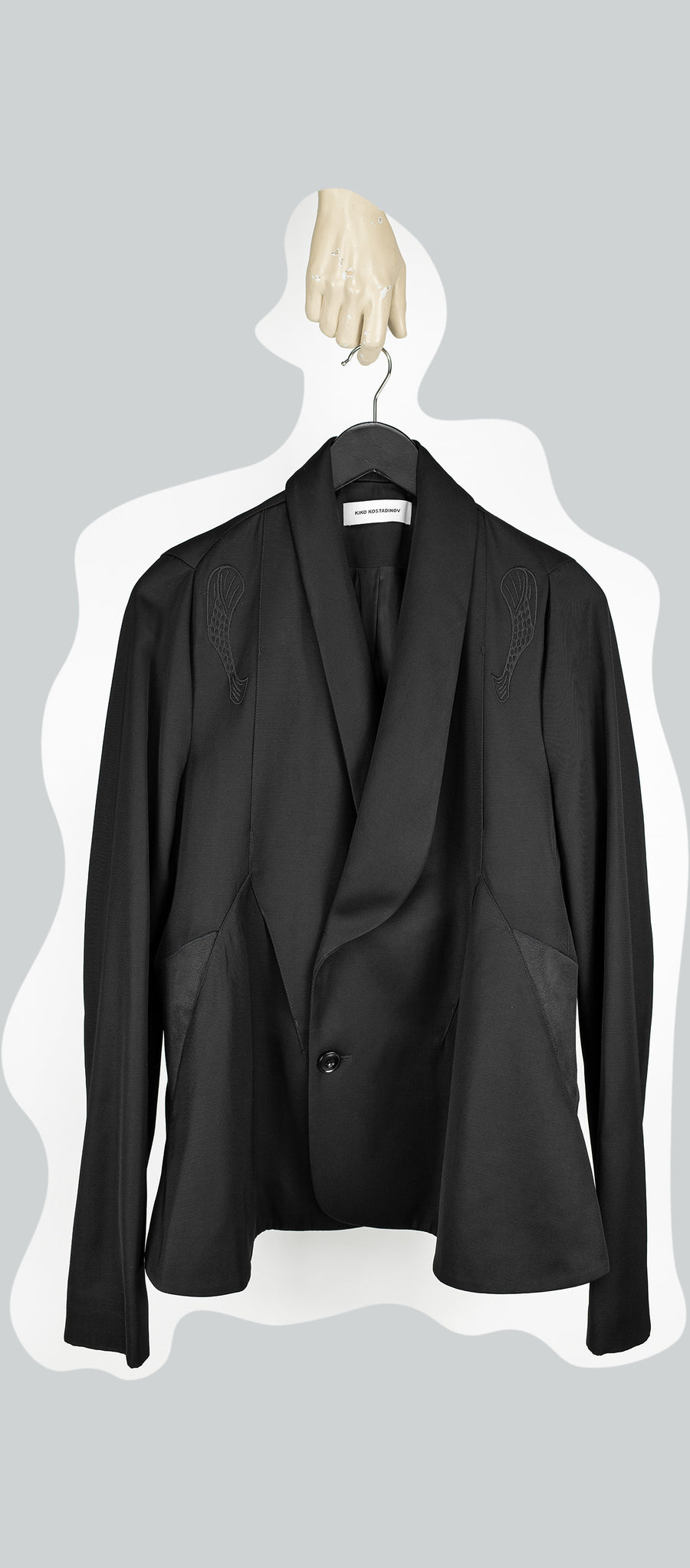 00092020 TRIPLE DART TAILORED JACKET