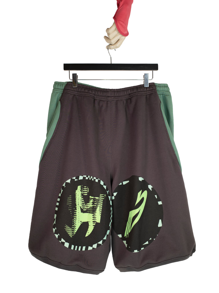 LOUISVILLE WIDE SHORTS MATT BROWN / MOSS GREEN