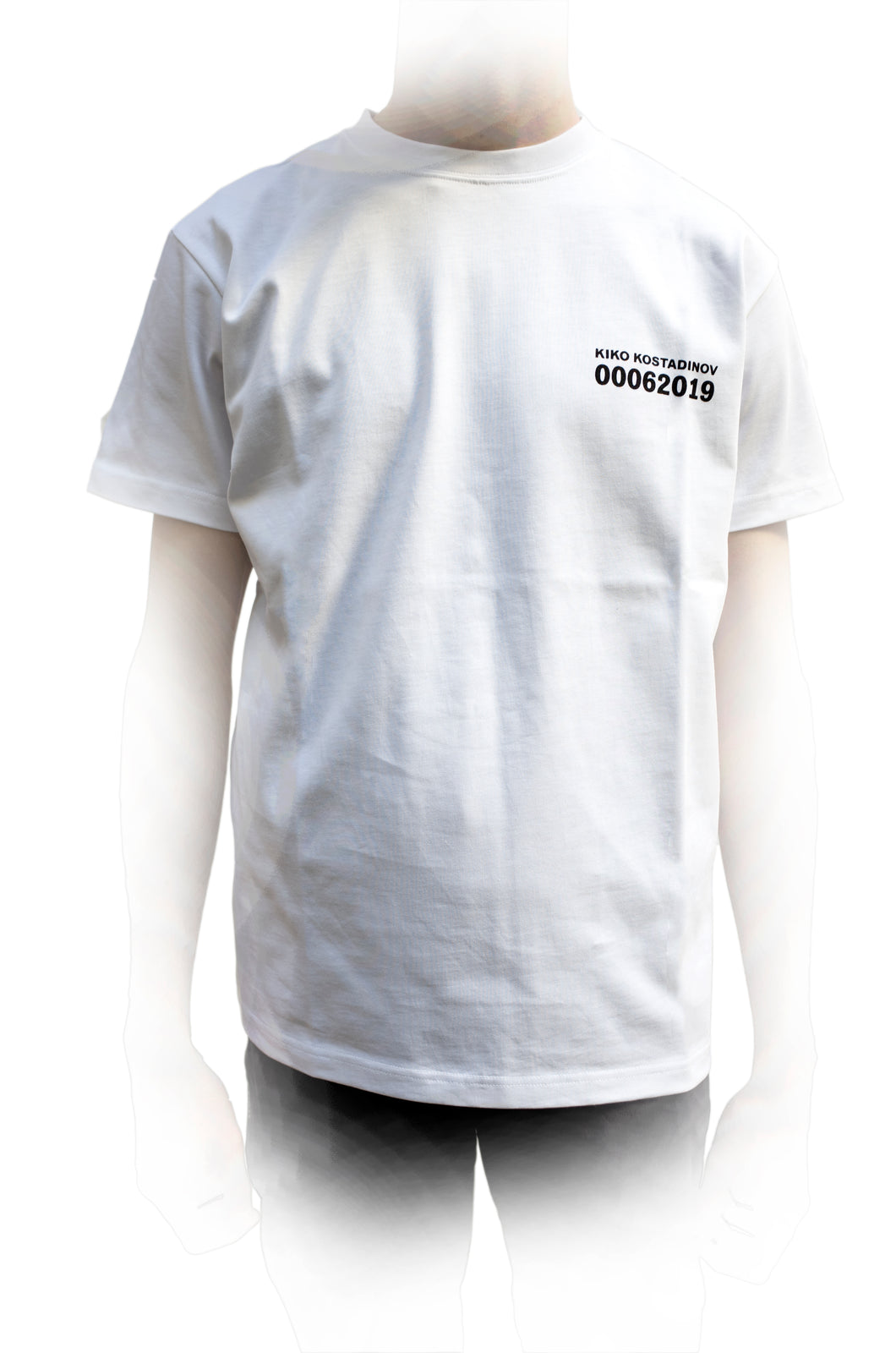 KIKO KOSTADINOV 00062019 GRAPHIC TEE WHITE