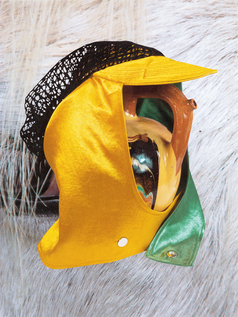 ANSEL RACING CAP GECKO GREEN /MARYGOLD YELLOW