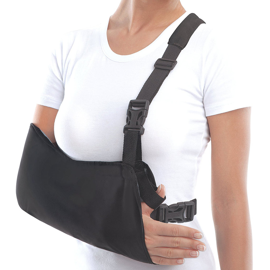 Arm Sling Shoulder Immobilizer with Waist Strap
