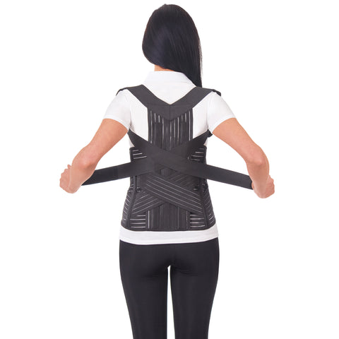 Breathable Posture Corrector Brace - Transformer Shoulder and Lower Back Support