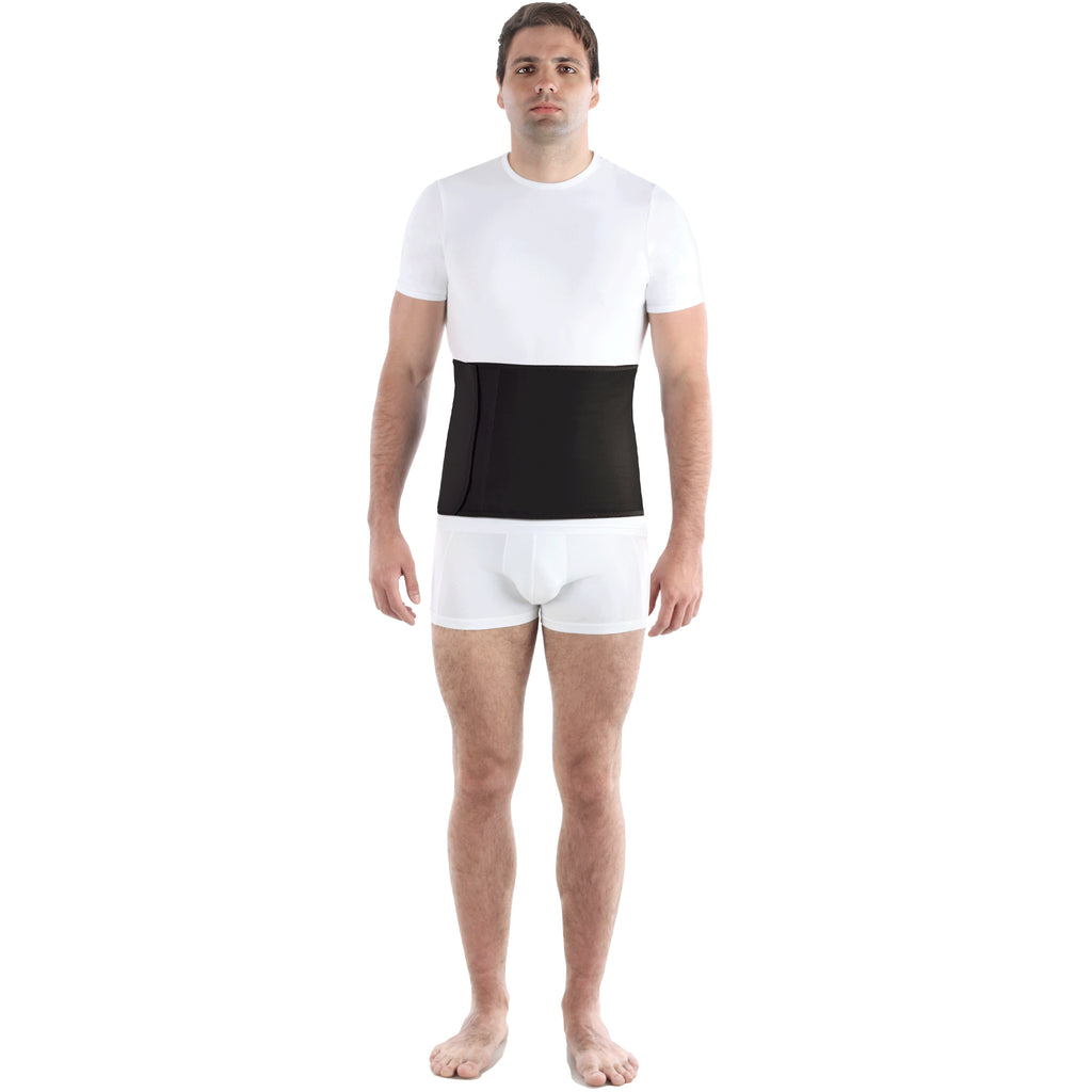 "Abdominal Binder 9"" With Cotton Liner - Postoperative Support Belt"