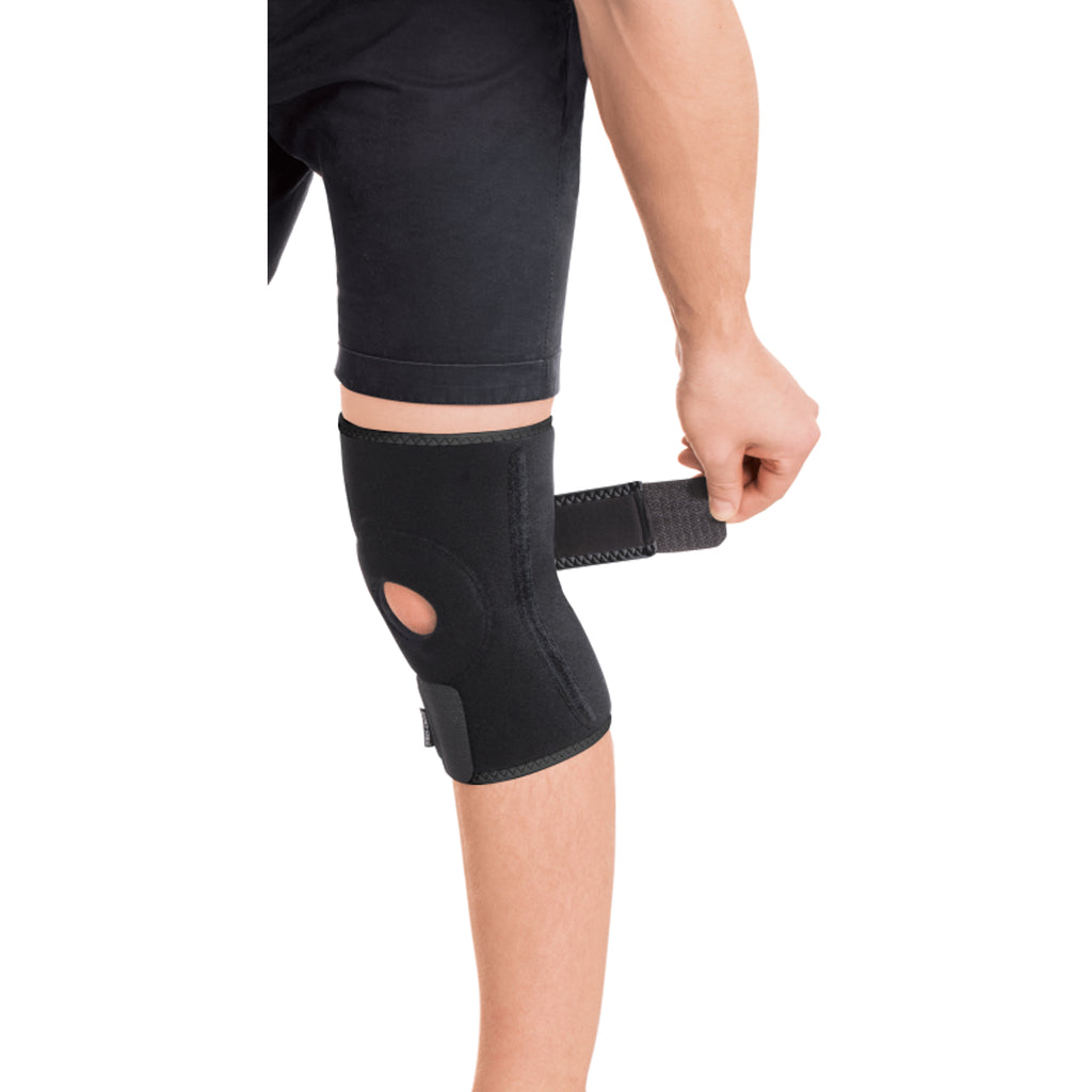 Adjustable Neoprene Knee Compression with Two Metal Springs